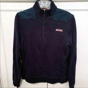 Vineyard Vines Navy Pullover Shep Sweatshirt